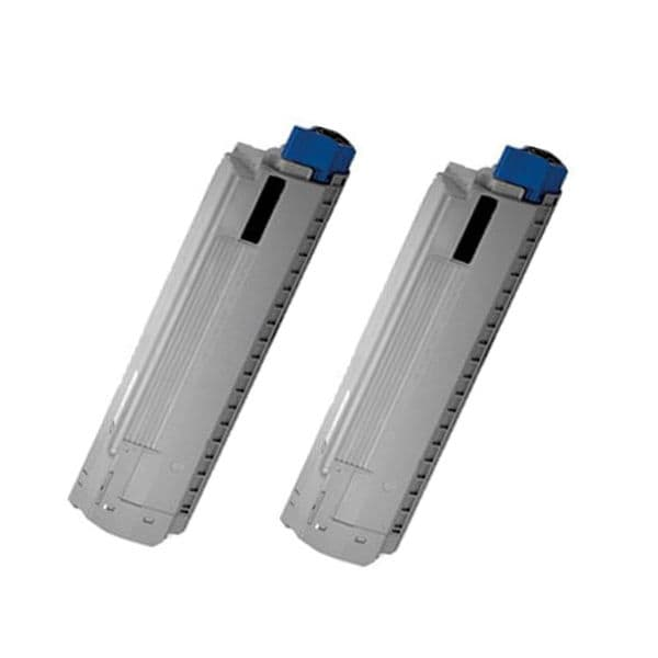 2PK Compatible 43487736 Toner Cartridge For Oki C8800 C8800DN C8800DTN C8800N ( Pack of 2 )