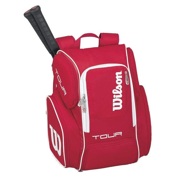 Wilson Tour V Large Backpack Red