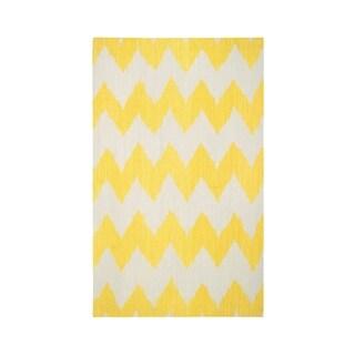 Genevieve Gorder Insignia Rectangle Flat Woven Rug (3'x 5') - 3' x 5'