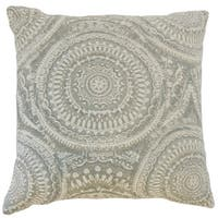 Chione Graphic 18 inch Down and Feather Filled Throw Pillow