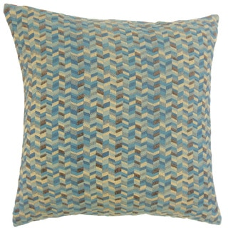 Bloem Chevron 18 inch Down and Feather Filled Pillow