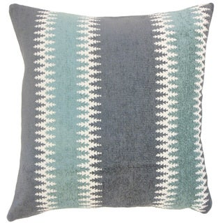 Yamilet Stripes 18 inch Down and Feather Filled Throw Pillow