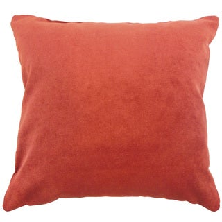 Xyla Solid 18 inch Down and Feather Filled Throw Pillow