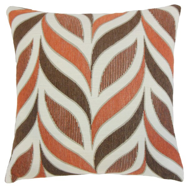 Veradis Geometric 18 inch Down and Feather Filled Throw Pillow