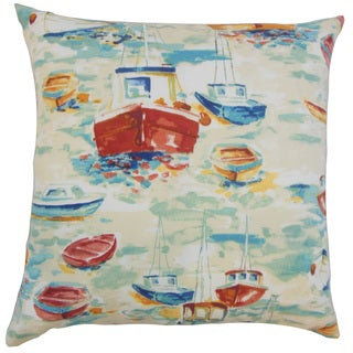 Iara Outdoor 18 inch Down and Feather Filled Throw Pillow