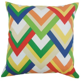 Kaethe Outdoor 18 inch Down and Feather Filled Throw Pillow