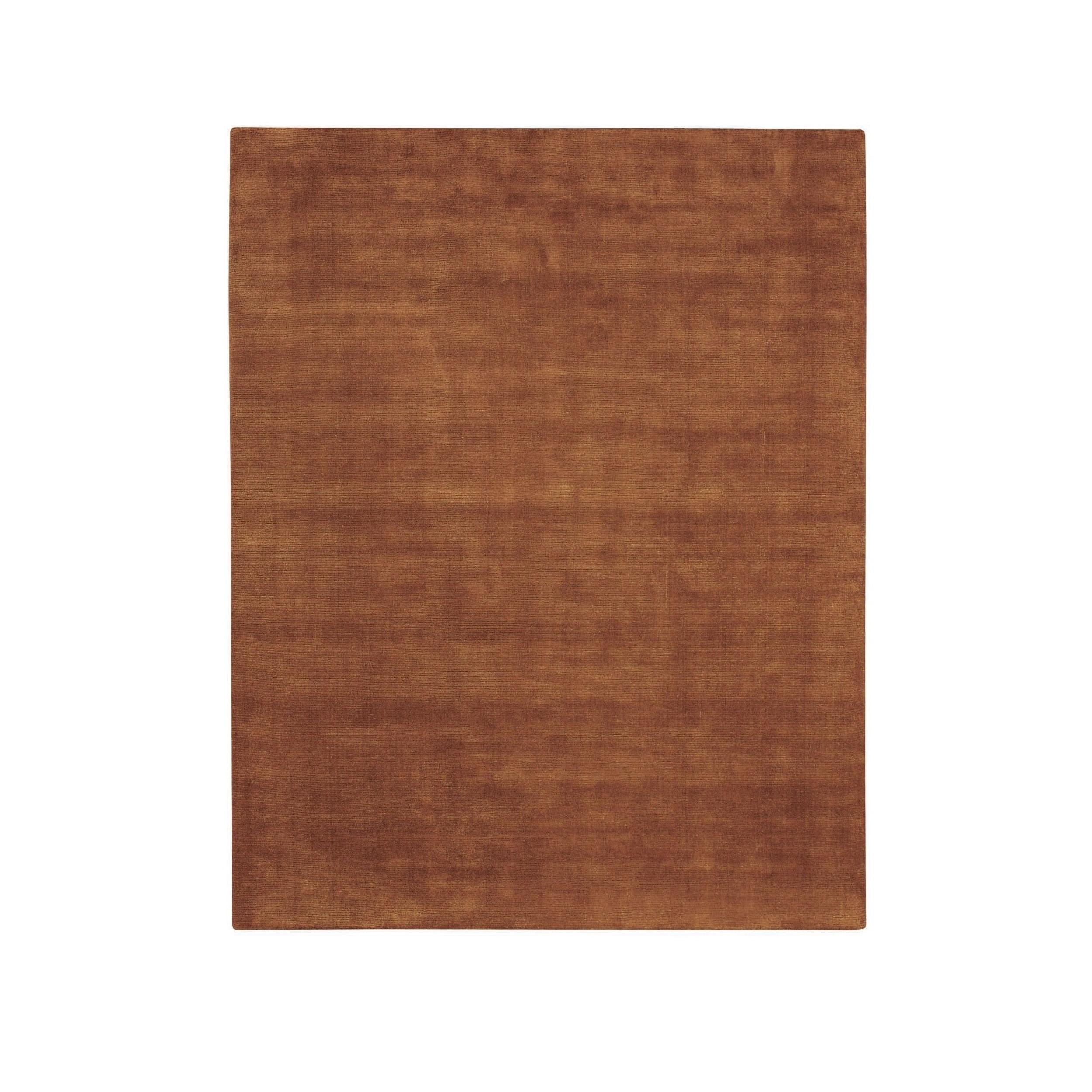 CAPEL Shelbourne Rectangle Dark Clay Flat Woven Rug (5'x ...