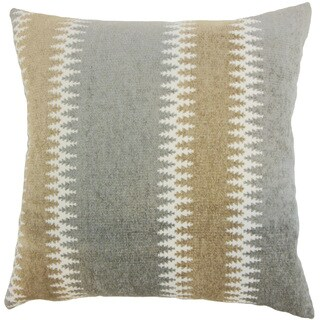 Eben Stripes 18 inch Down and Feather Filled Throw Pillow