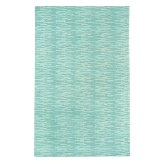 Kevin O'Brien Sori Rectangle Hand-knotted Rug (7'x 9')