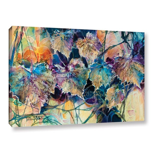 ArtWall Trish Mckinney's Vine & Branches, Gallery Wrapped Canvas