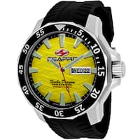 Seapro Men's SP8313 Scuba Limited Edition Round Black Silicone Strap Watch