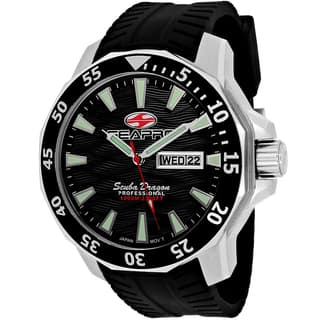 Seapro Men's SP8310 Scuba Dragon Limited Edition Round Black Silicone Strap Watch|https://ak1.ostkcdn.com/images/products/11068655/P18078211.jpg?impolicy=medium