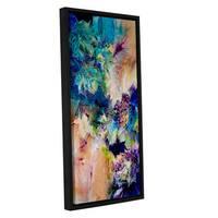 ArtWall Trish Mckinney's Testify I, Gallery Wrapped Floater-framed Canvas