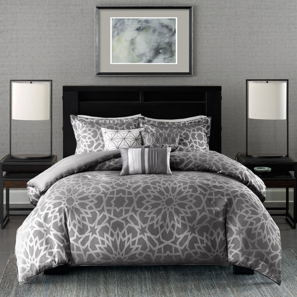 Shop Madison Park Elena 6 Piece Duvet Cover Set On Sale