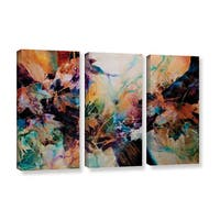 ArtWall Trish Mckinney's Beckoning, 3 Piece Gallery Wrapped Canvas Set