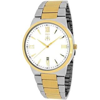 Jivago Men's JV3512 Clarity Round Two-tone Stainless Steel Bracelet Watch