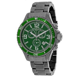 Oceanaut Men's OC8333 Baltica Special Edition Round Gunmetal Stainless Steel Bracelet Watch