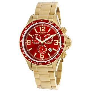 Oceanaut Men's OC3335 Baltica Round Goldtone Stainless Steel Bracelet Watch
