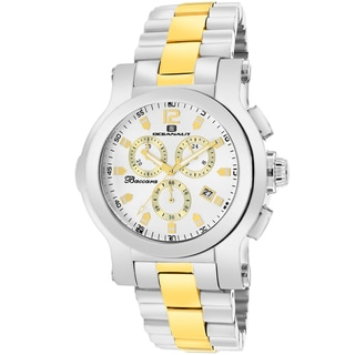 Oceanaut Men's OC0731 Baccara Round Two-tone Stainless Steel Bracelet Watch