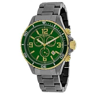 Oceanaut Men's OC8337 Baltica Special Edition Round Gunmetal Stainless Steel Bracelet Watch