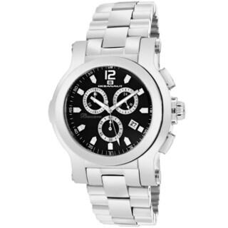 Oceanaut Men's OC0730 Baccara Round Silvertone Stainless Steel Bracelet Watch