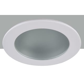 Elegant Lighting Elitco 3-Inch Round Shower Trim Ring with Frosted Glass