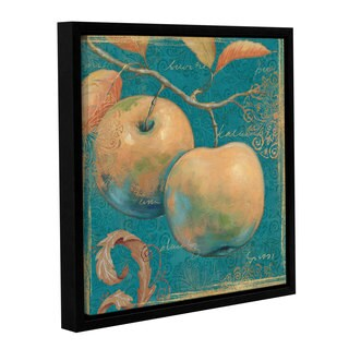 ArtWall Daphne Brissonnet's Lovely Fruits 2, Gallery Wrapped Floater-framed Canvas