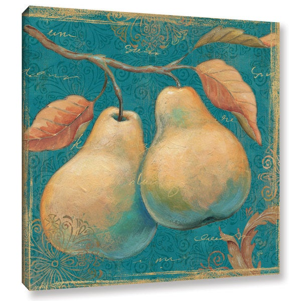 ArtWall Daphne Brissonnet's Lovely Fruits 1, Gallery Wrapped Canvas - Multi
