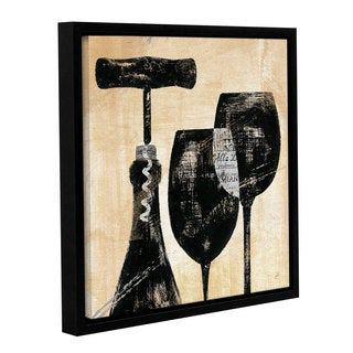 ArtWall Daphne Brissonnet's Wine Selection 2, Gallery Wrapped Floater-framed Canvas