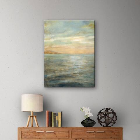 ArtWall Danhui Nai's Serene Sea 2, Gallery Wrapped Canvas