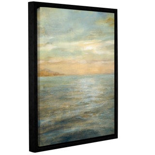 ArtWall Danhui Nai's Serene Sea 2, Gallery Wrapped Floater-framed Canvas