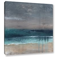 ArtWall Linda Woods's Beach V, Gallery Wrapped Canvas