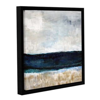 ArtWall Linda Woods's Beach VI, Gallery Wrapped Floater-framed Canvas