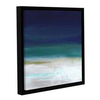 ArtWall Linda Woods's Beach IV, Gallery Wrapped Floater-framed Canvas