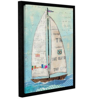 ArtWall Courtney Prahl's At The Regatta 3, Gallery Wrapped Floater-framed Canvas