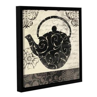 ArtWall Jo Moulton's Teapot II, Gallery Wrapped Floater-framed Canvas