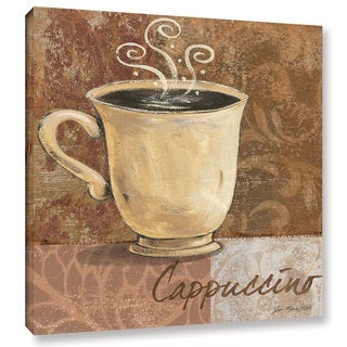ArtWall Jo Moulton's Cappuccino, Gallery Wrapped Canvas