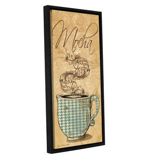 ArtWall Jo Moulton's Mocha, Gallery Wrapped Floater-framed Canvas