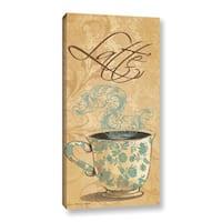 ArtWall Jo Moulton's Latte, Gallery Wrapped Canvas