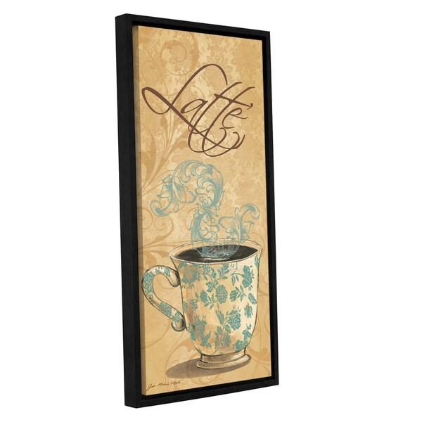 ArtWall Jo Moulton's Latte, Gallery Wrapped Floater-framed Canvas