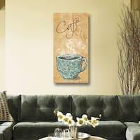 ArtWall Jo Moulton's Café, Gallery Wrapped Canvas