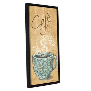 ArtWall Jo Moulton's Cafe, Gallery Wrapped Floater-framed Canvas