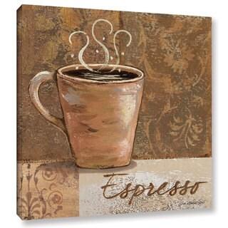 ArtWall Jo Moulton's Espresso, Gallery Wrapped Canvas