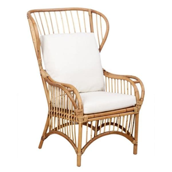 Superior Trice Rattan Wingback Chair