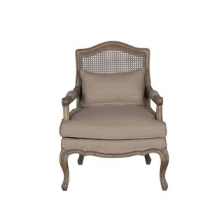 Eloise Occasional Chair With Wood Frame