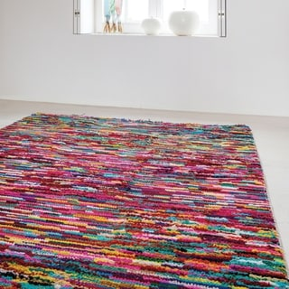 Hand Knotted Rossiare Cotton Rug (2' x 3')
