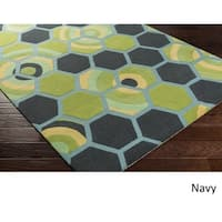 Hand Tufted Thatcham Wool/Cotton Area Rug - 8' x 10'