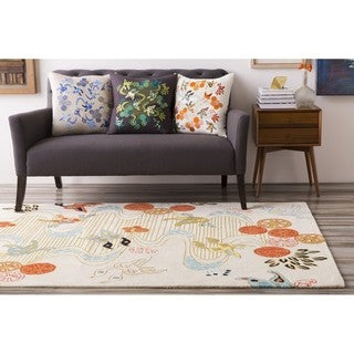 Hand Tufted Thame Wool/Cotton Rug (8' x 10')