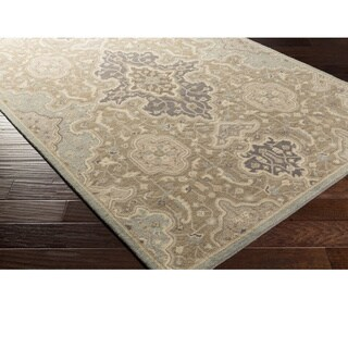 Hand Tufted Stotfold Wool Area Rug - 8' x 10'