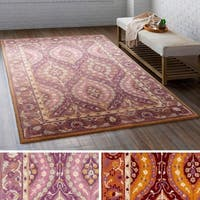 Hand Tufted Stone Wool Area Rug - 8' x 10'